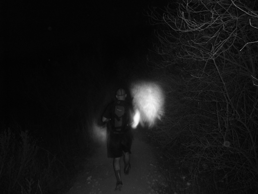 Expect to go through the darkness- physically and metaphorically speaking.