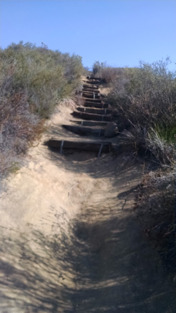 Stairway to Los Pinos