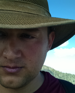Justin Flores, writer, trail and ultra runner